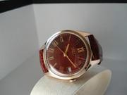 продам золотые часы полет 17камней